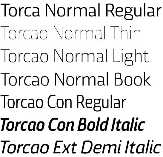 Torcao font by Jeremy Dooley