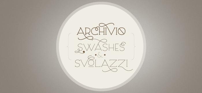 Archivio font by Giuseppe Salerno