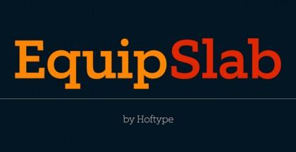 Equip Slab font