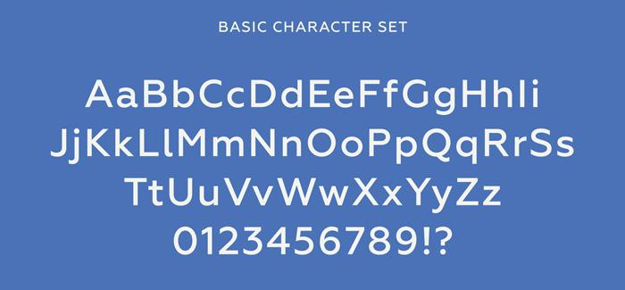 Geometria font