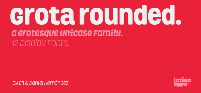 Grota Rounded font