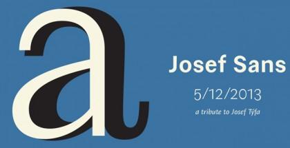 Josef Sans font