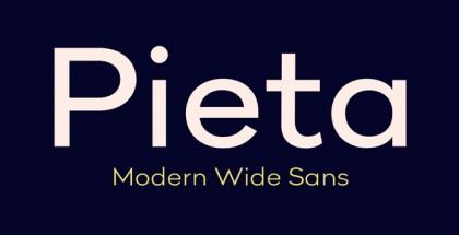 Pieta font