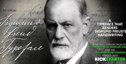 Sigmund Freud font