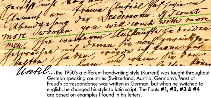 Sigmund freud original writings