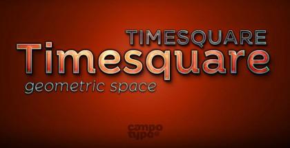 Timesquare font