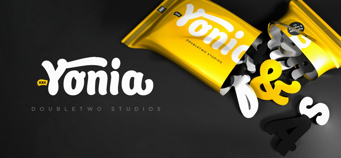 Yonia font by Doubletwo Studios