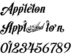 Appleton font – a retro american beauty by Decade Typefoundry