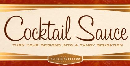 Cocktail Sauce font