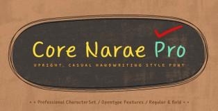 Core Narae Pro font