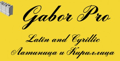 Gabor Pro font