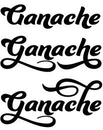 Ganache font