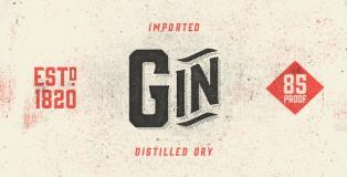 Gin font
