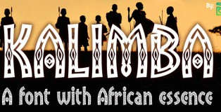 Kalimba font