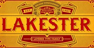 Lakester font