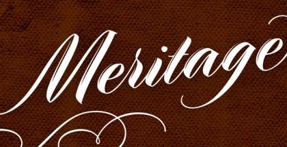Meritage font