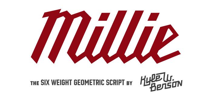 Millie font