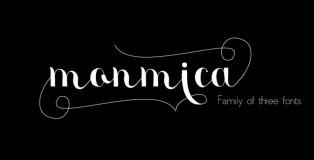 Monmica font family
