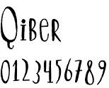 Qiber font