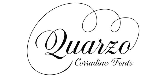 Quarzo font