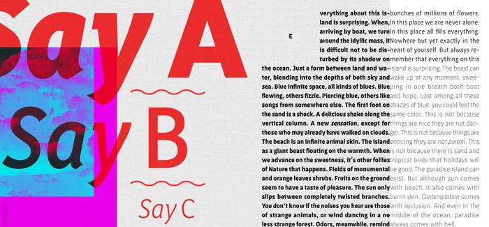 Saya FY font by Fontyou