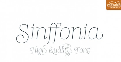 Sinffonia font
