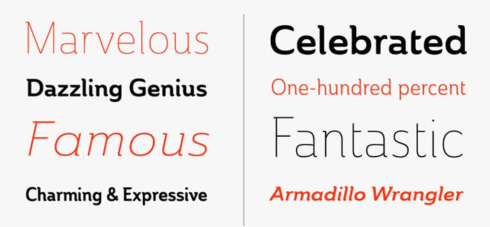 Ainslie font