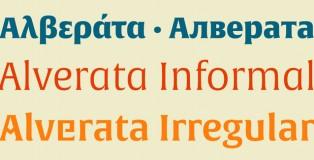 Alverata font
