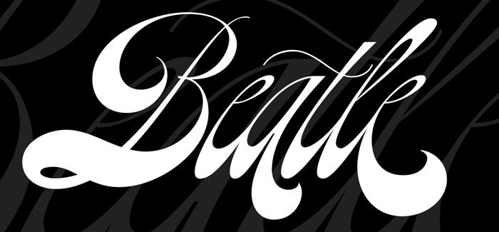 Beatle font