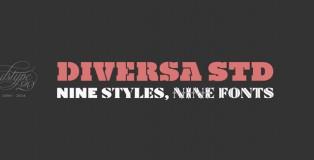 Diversa Std font