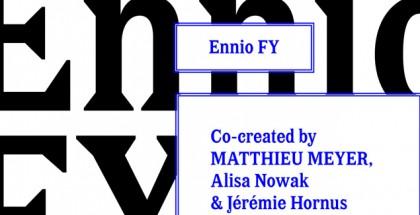Ennio FY font