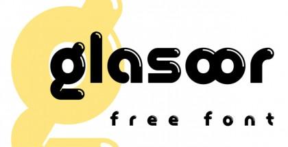 Glasoor free font