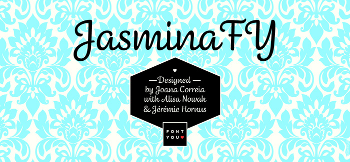 Jasmina FY font