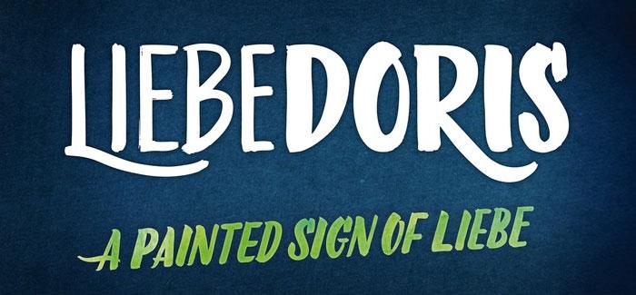 LiebeDoris font by LiebeFonts