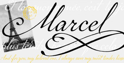 P22 Marcel font