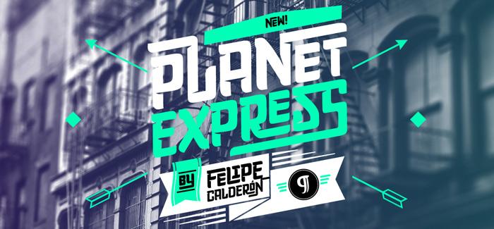 Planet Express font