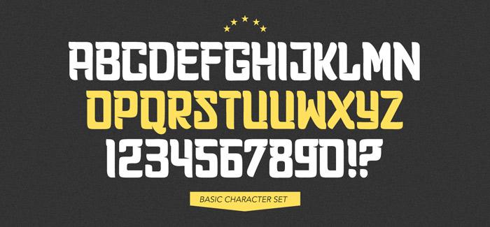 Planet Express font by Calderón Estudio – unconventional, provocative, attractive