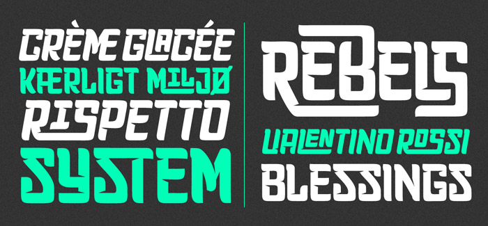 Planet Express font by Calderón
