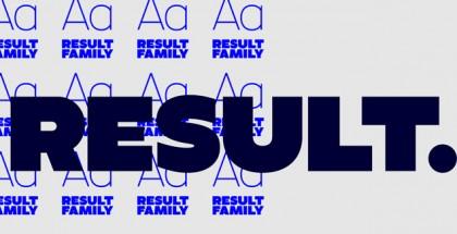 Result font