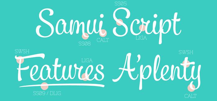 Samui Script font