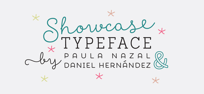 Showcase font