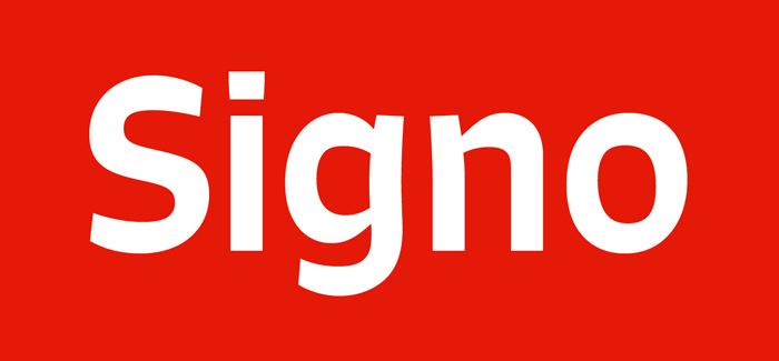 Signo font