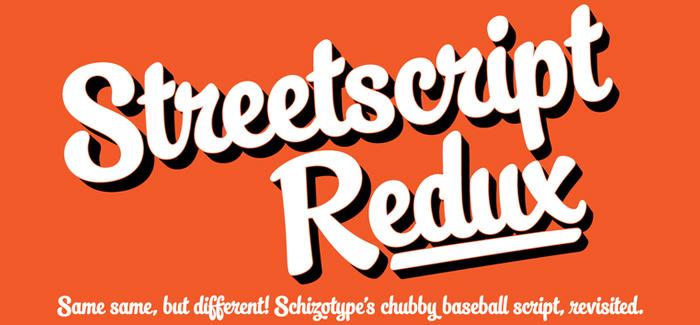 Streetscript Redux font