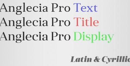 Anglecia Pro font