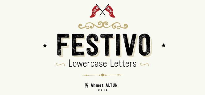 Festivo LC font