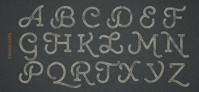Gist Rough font