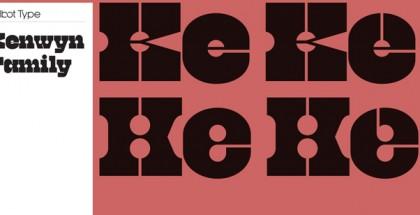 Kenwyn font
