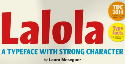 Lalola font