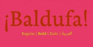 Baldufa font