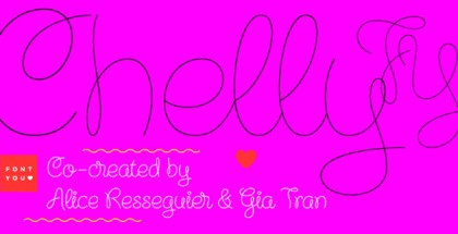 Chelly FY font
